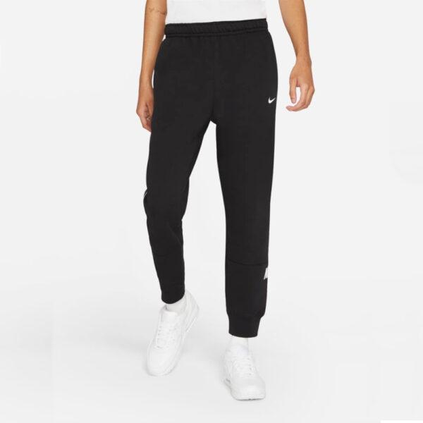 Nike Sportswear Repeat Fleece Joggers - Black image 1   DC0719-011   Global Soccerstore