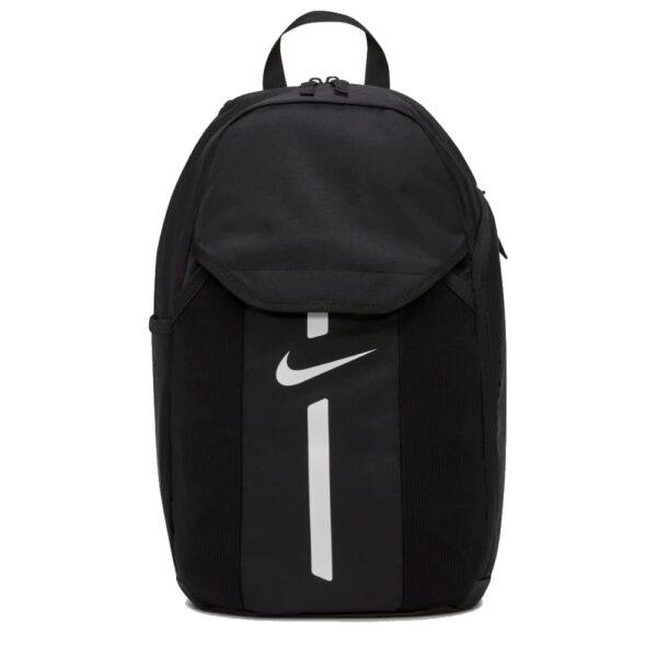 Nike Academy Team Backpack - Black/Black/(White) image 1   DC2647-010   Global Soccerstore
