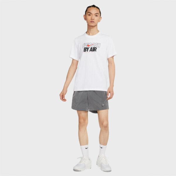 Nike Sportswear Swoosh By Air Tee - White image 1 | DJ1421-100 | Global Soccerstore