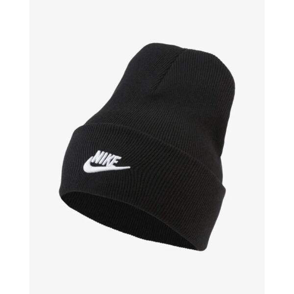 Nike Sportswear Utility Futura Beanie - Black/(White) image 1 | DJ6224-010 | Global Soccerstore