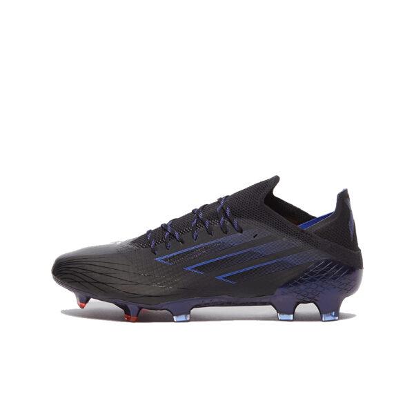 Adidas X Speedflow .1 FG - Core Black/Sonic Ink/Solar Yellow image 1   FY6867   Global Soccerstore