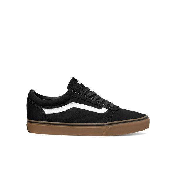 Vans Ward Sneaker - Black/White/Gum image 1   VA36EM7HI   Global Soccerstore