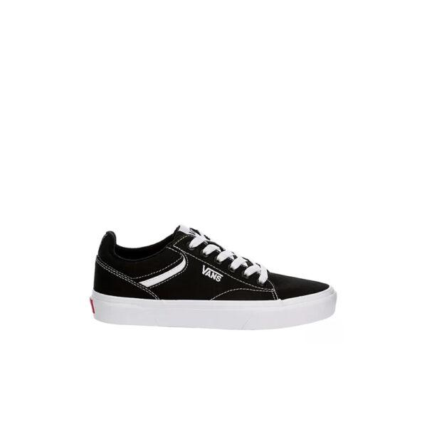 Vans Seldan Sneaker - Black/White image 1   VA4TZE187   Global Soccerstore