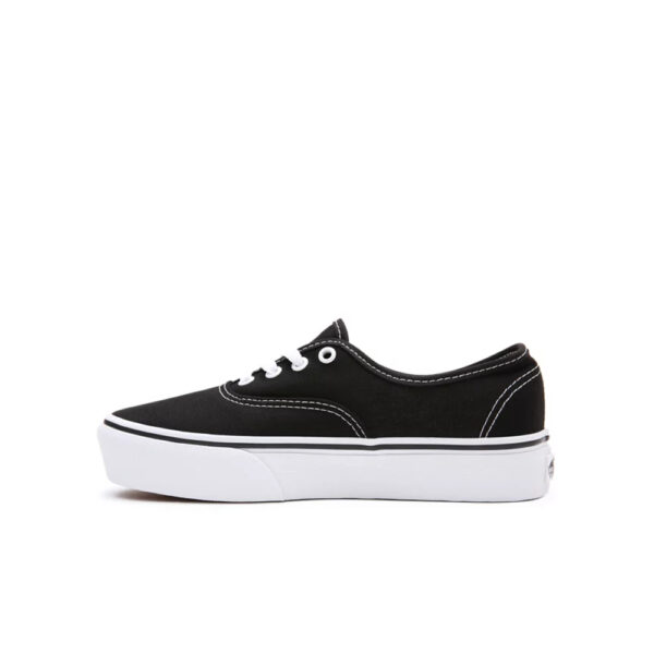 Vans Authentic Platform 2.0 - Black image 1 | VN0A3AV8BLK1 | Global Soccerstore